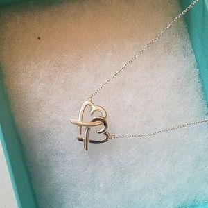 44ac5b1d4 Tiffany & Co. Jewelry   Tiffanys Loving Heart Interlocking Pendant ...